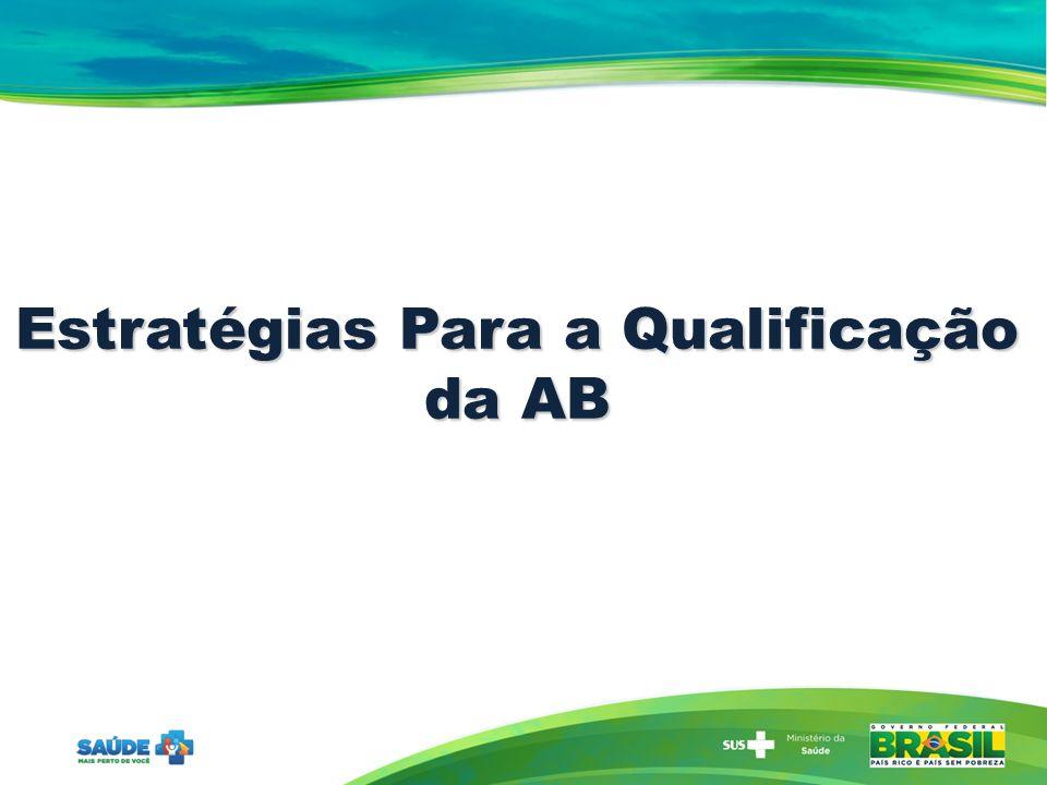 Estratégias Para a Qualificação da AB