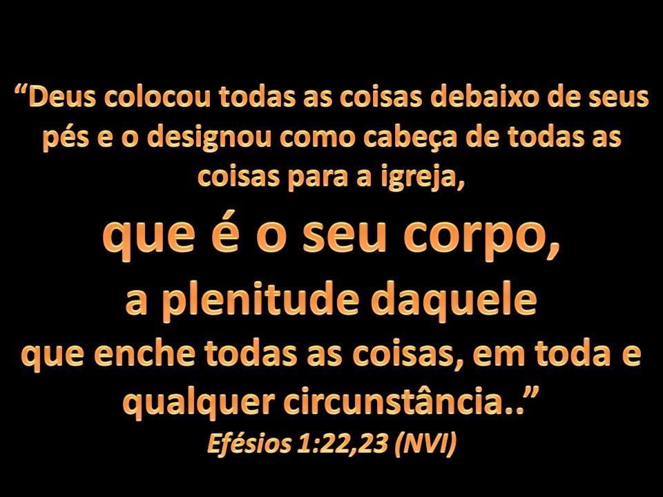 É através da UNIDADE BÁSICA DO CORPO DE CRISTO que a plenitude de Cristo deve ser revelada.