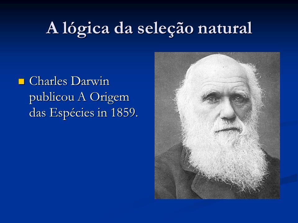 Evolução por seleção natural Na A Origem, Darwin delineou o mecanismo pelo qual a evolução principalmente ocorre.