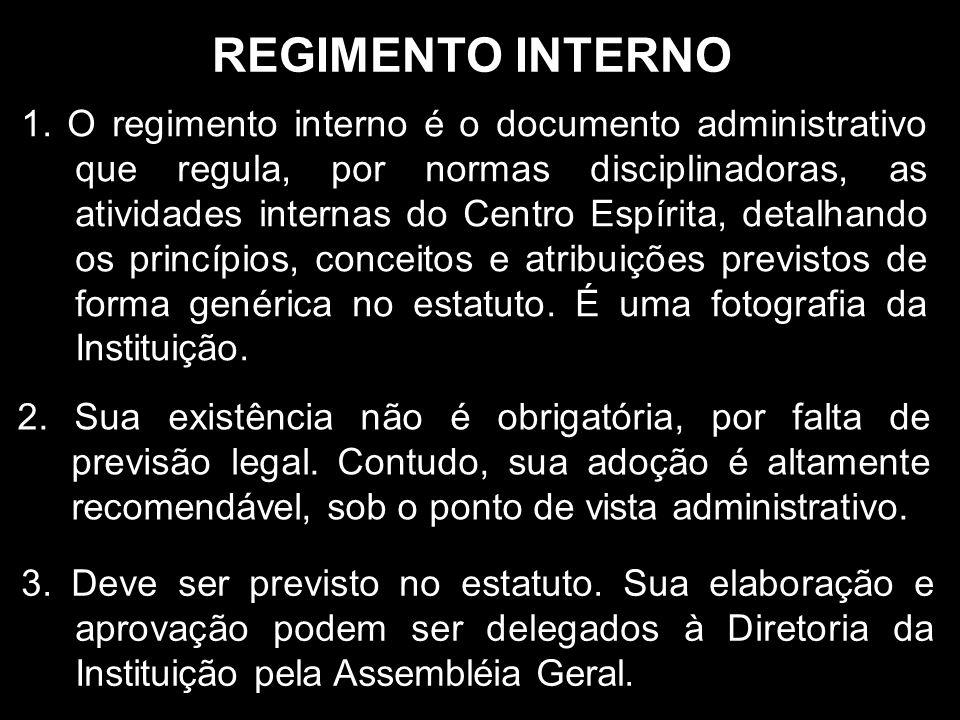 REGIMENTO INTERNO 1.