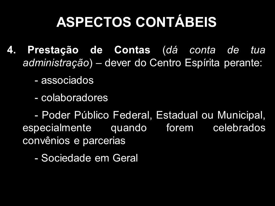 ASPECTOS CONTÁBEIS 4.