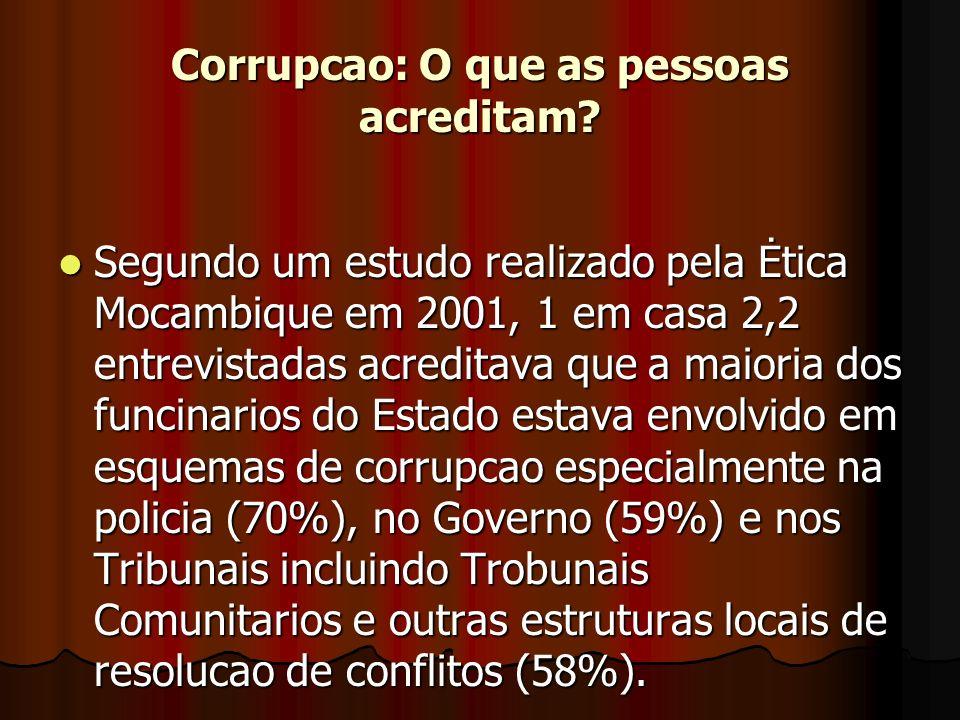 Principais vitimas da corrupcao.