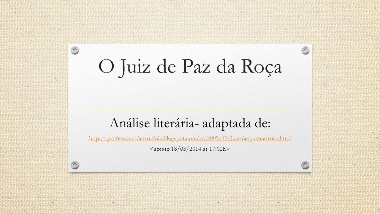 Autor Luiz Carlos Martins Pena nasceu no Rio de Janeiro, em 1815, e morreu em Lisboa, em 1848.