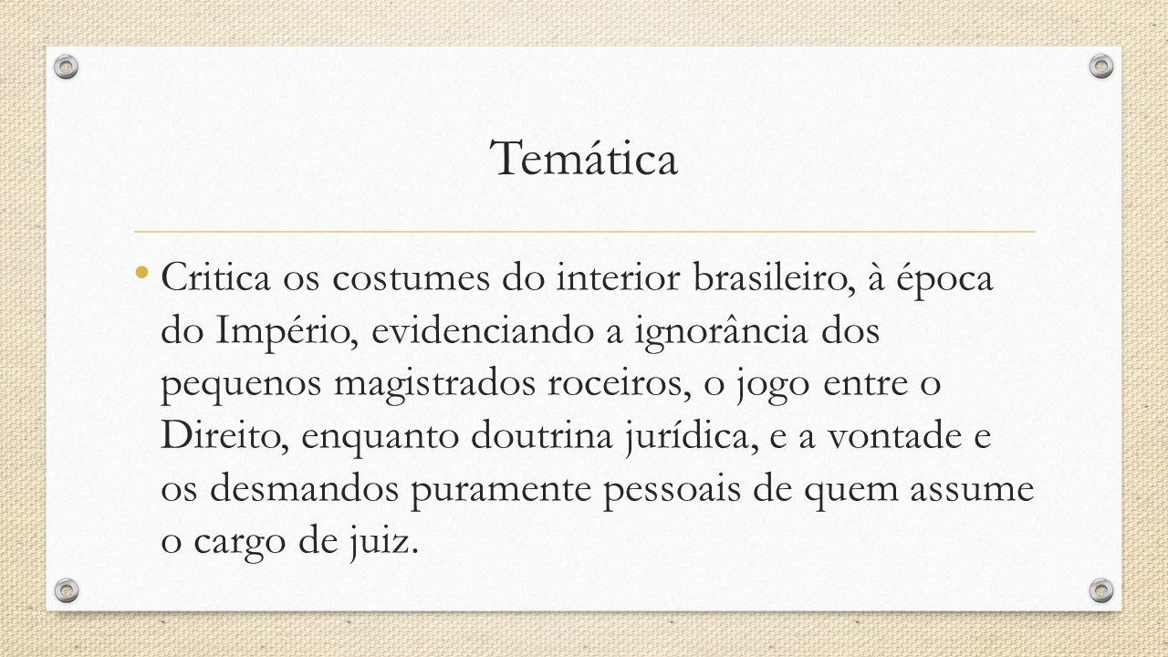 PERSONAGENS As personagens de Martins Pena são pessoas comuns em situações cotidianas: casamentos, festas, envolvidas em pequenas intrigas domésticas,