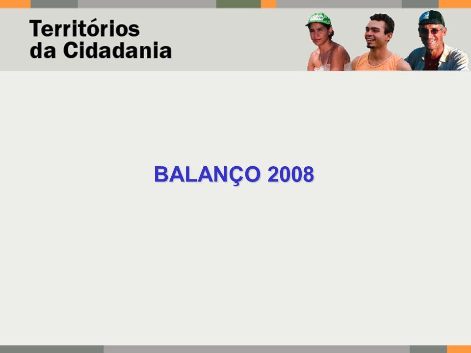 BALANÇO 2008