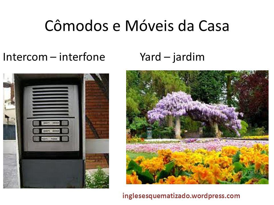 Cômodos e Móveis da Casa Intercom – interfoneYard – jardim inglesesquematizado.wordpress.com