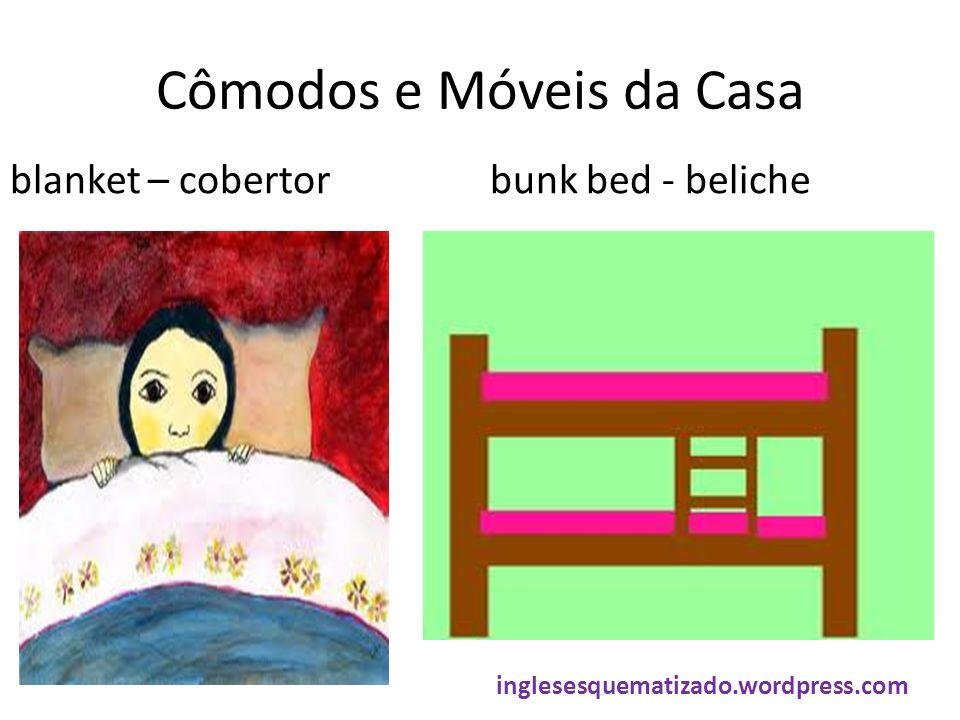 Cômodos e Móveis da Casa blanket – cobertorbunk bed - beliche inglesesquematizado.wordpress.com
