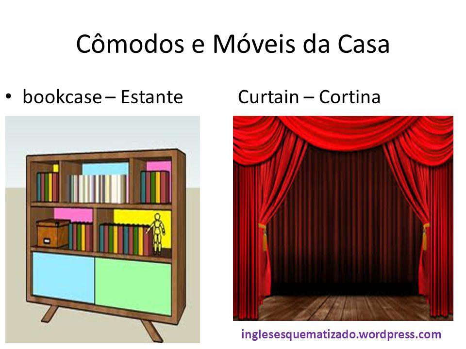 Cômodos e Móveis da Casa bookcase – EstanteCurtain – Cortina inglesesquematizado.wordpress.com