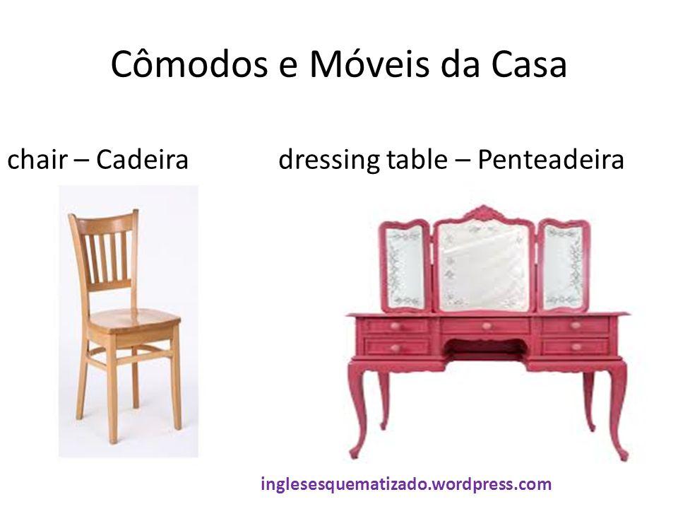 Cômodos e Móveis da Casa chair – Cadeiradressing table – Penteadeira inglesesquematizado.wordpress.com