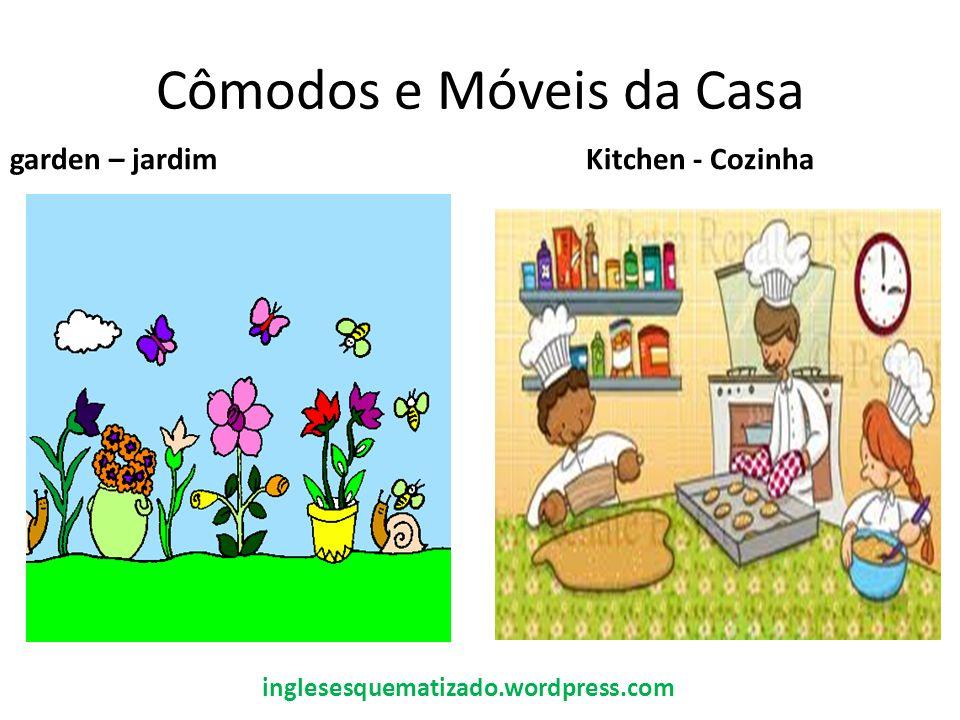 Cômodos e Móveis da Casa garden – jardimKitchen - Cozinha inglesesquematizado.wordpress.com