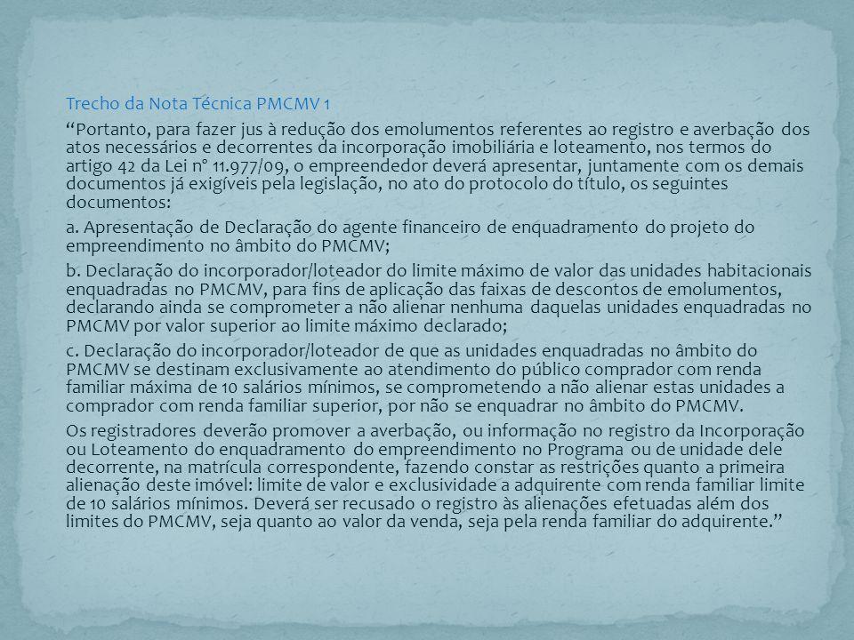 Garantias.Art. 42.