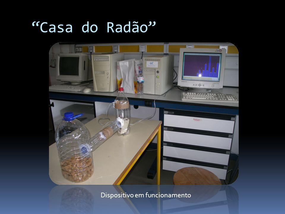 Casa do Radão Dispositivo em funcionamento