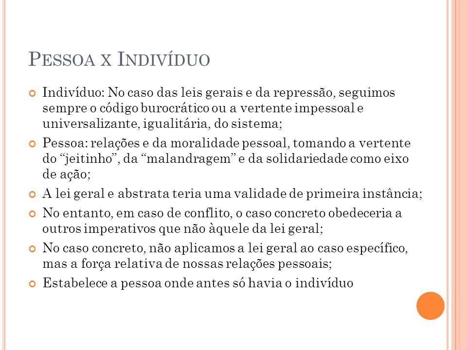 I NTERPRETAÇÃO BASEADA EM GILBERTO FREYRE O Brasil seria uma sociedade sui generis e não uma mera continuação de Portugal; Sociedade colonial brasileira como uma sociedade sadomasoquista: escravidão muçulmana; Constituição da modernidade brasileira sob a forma peculiar de uma reeuropeização