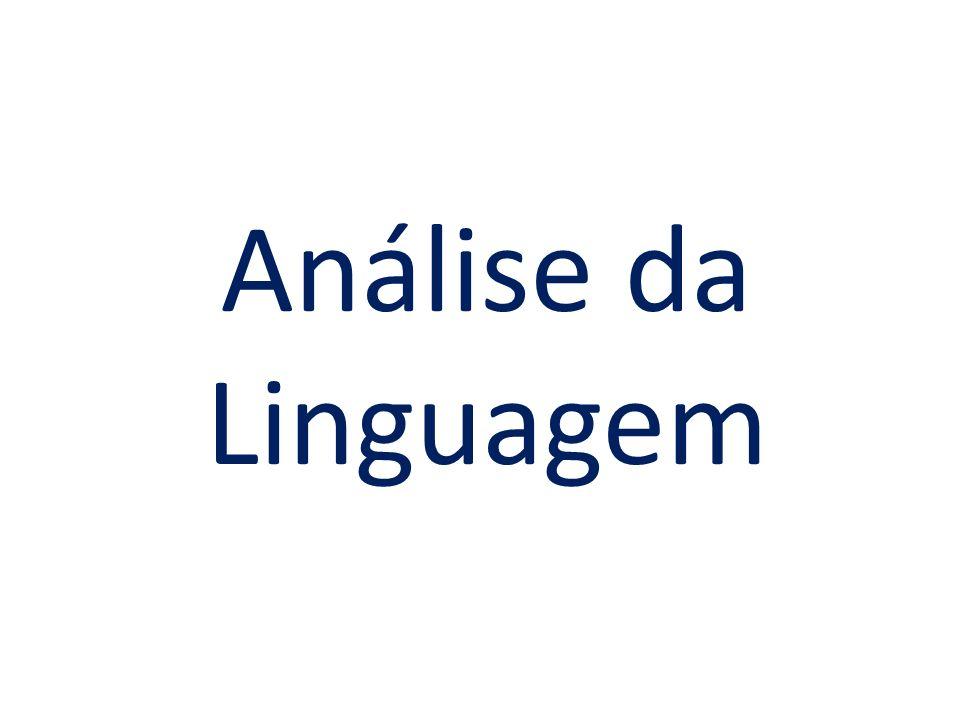 Análise da Linguagem