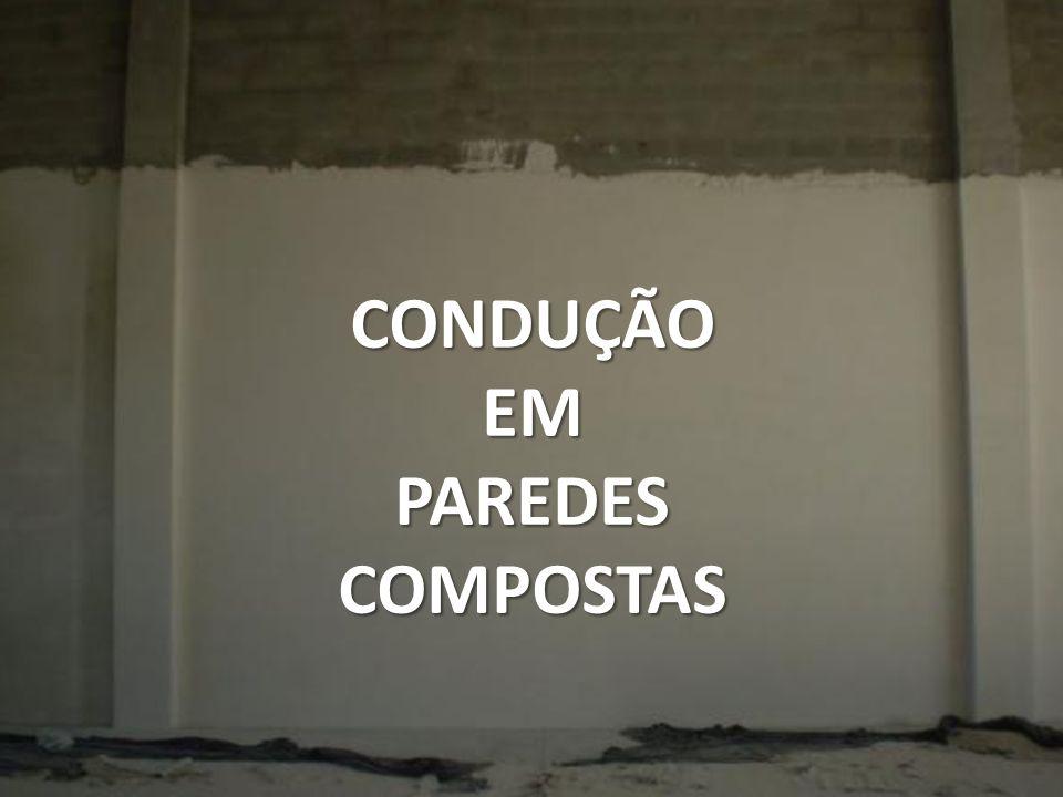 CONDUÇÃO EM PAREDES COMPOSTAS
