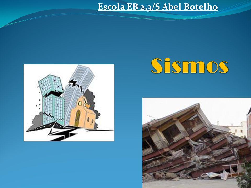 INDICE O que é um sismo .
