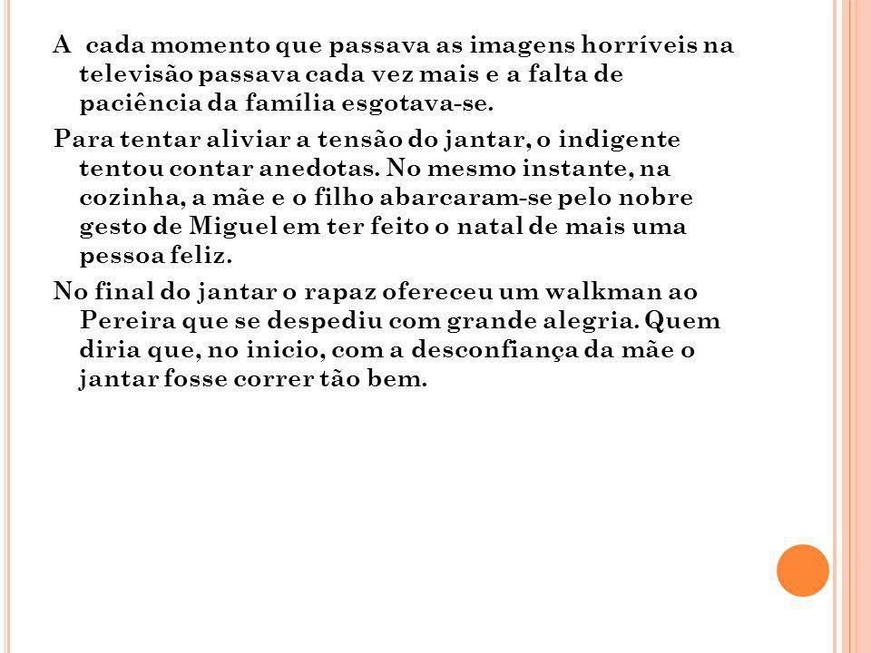 Q UESTIONÁRIO 1.Explica o que simboliza a imagem que vem recorrentemente à cabeça de Marciana.