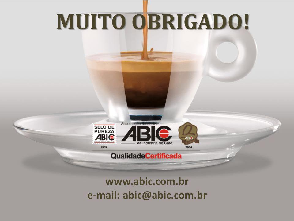 MUITO OBRIGADO! www.abic.com.br e-mail: abic@abic.com.br