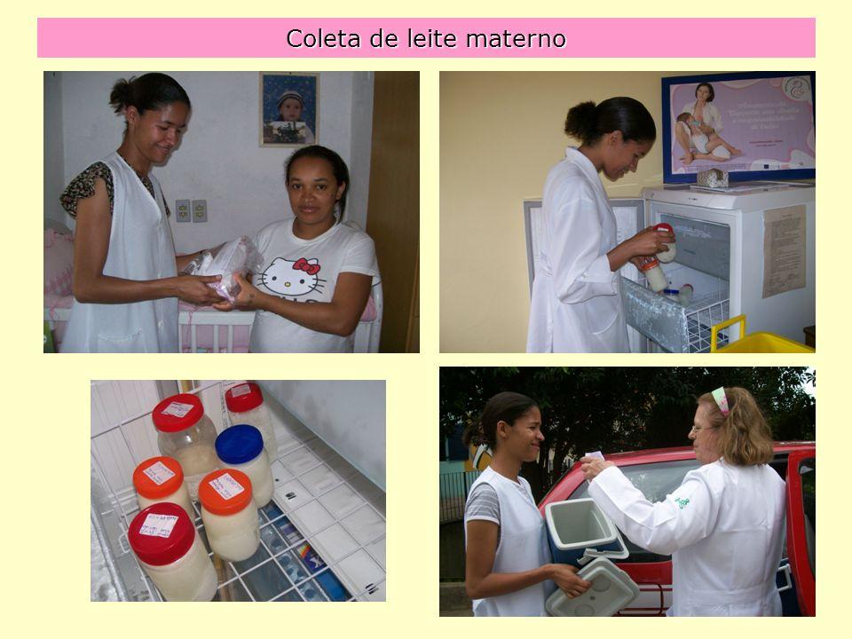 Coleta de leite materno