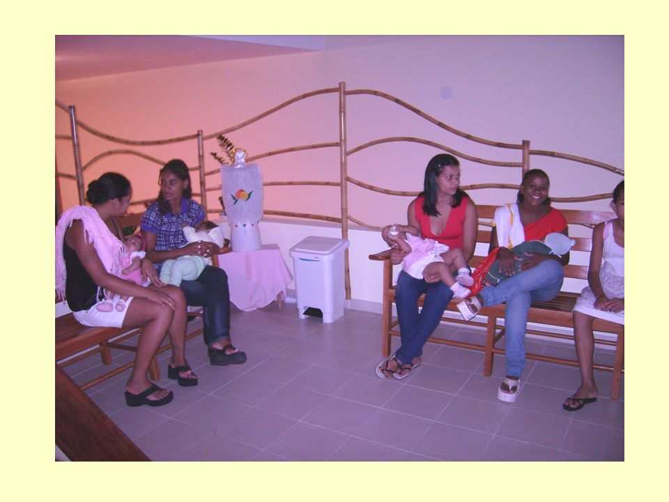 Grupos e oficinas para gestantes e mães