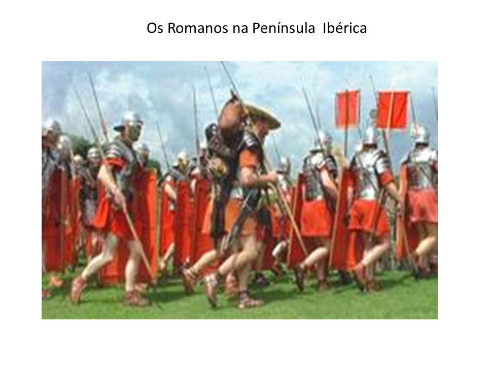 Chegaram à Península no século III a.C.Vieram da Península Itálica.