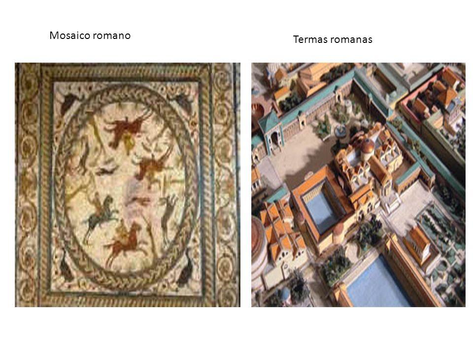 Mosaico romano Termas romanas