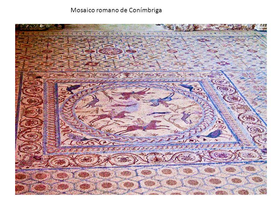 Mosaico romano de Conímbriga
