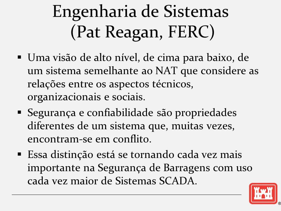 Engenharia de Sistemas (Pat Reagan, FERC) Uma visão de alto nível, de cima para baixo, de um sistema semelhante ao NAT que considere as relações entre