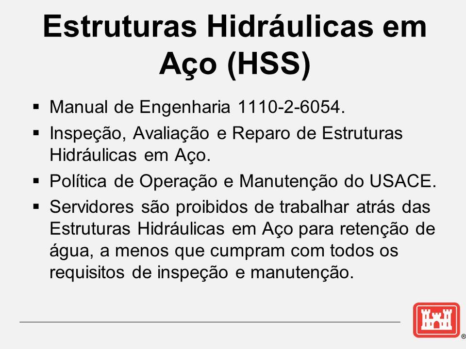 Estruturas Hidráulicas em Aço (HSS) Manual de Engenharia 1110-2-6054. Inspeção, Avaliação e Reparo de Estruturas Hidráulicas em Aço. Política de Opera