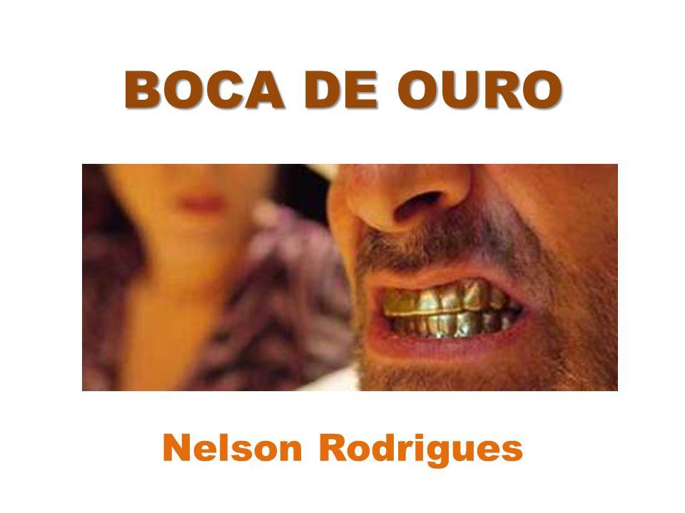 SEGUNDO ATO / Guigui muda o tom Guigui reafirma o assassinato e conta como Boca se livrou do cadáver; Surge Agenor e conta que Guigui o abandonou e a seus três filhos para viver com o Boca; Caveirinha conta que o Boca de Ouro morreu.