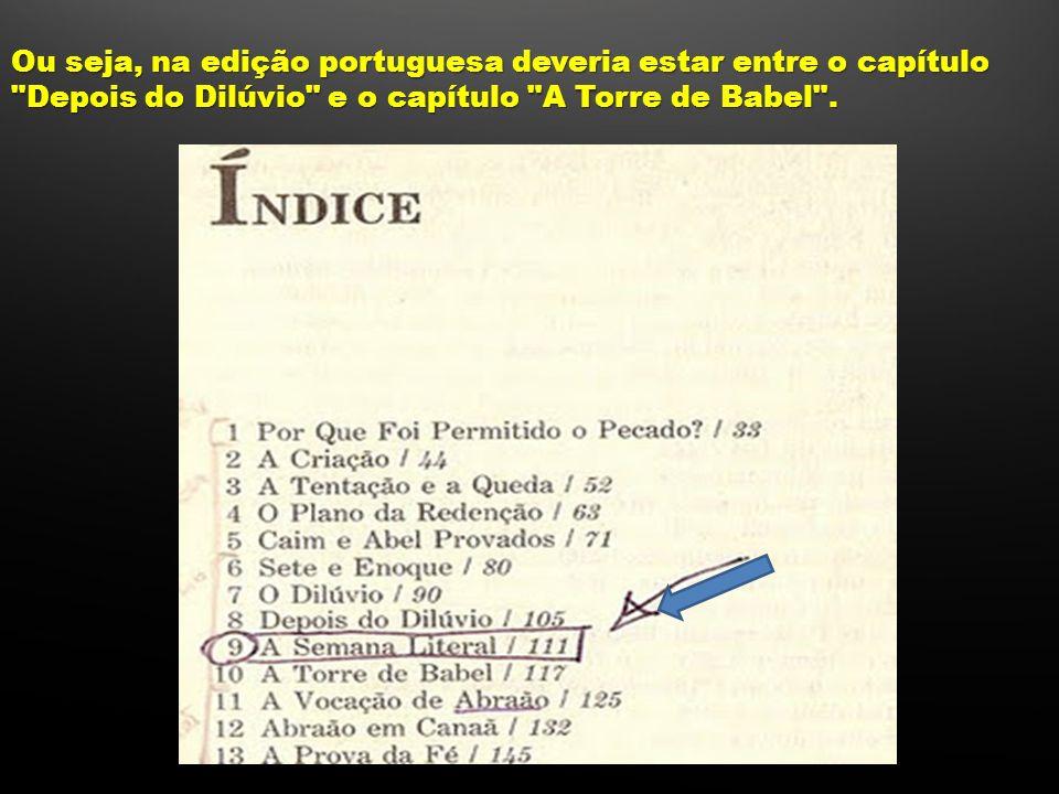 Ou seja, na edição portuguesa deveria estar entre o capítulo