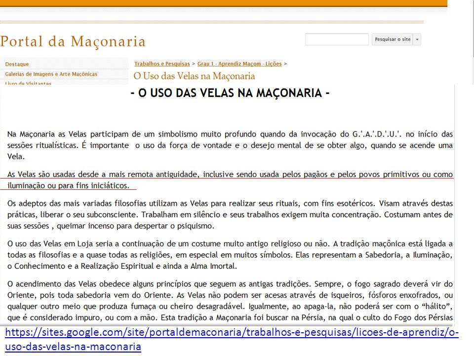 https://sites.google.com/site/portaldemaconaria/trabalhos-e-pesquisas/licoes-de-aprendiz/o- uso-das-velas-na-maconaria