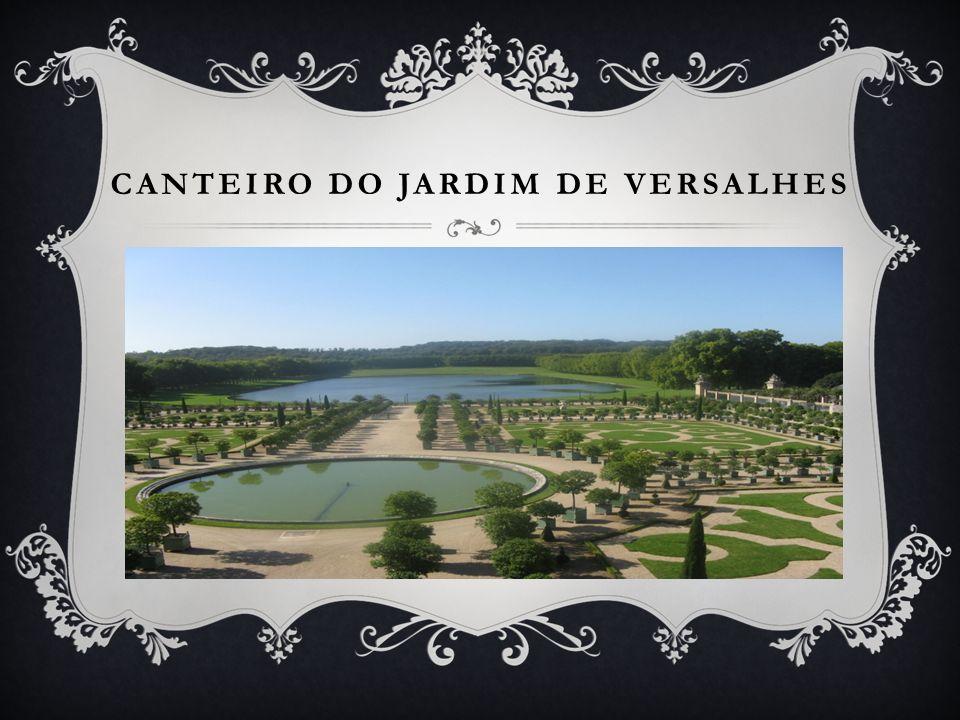 CANTEIRO DO JARDIM DE VERSALHES