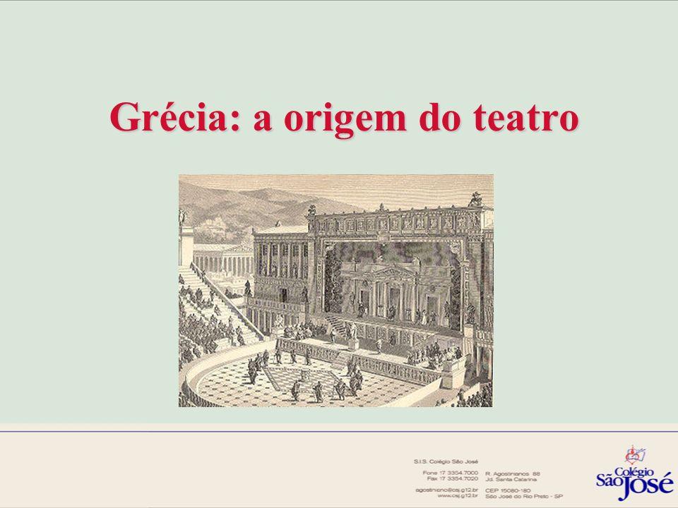 Grécia: a origem do teatro
