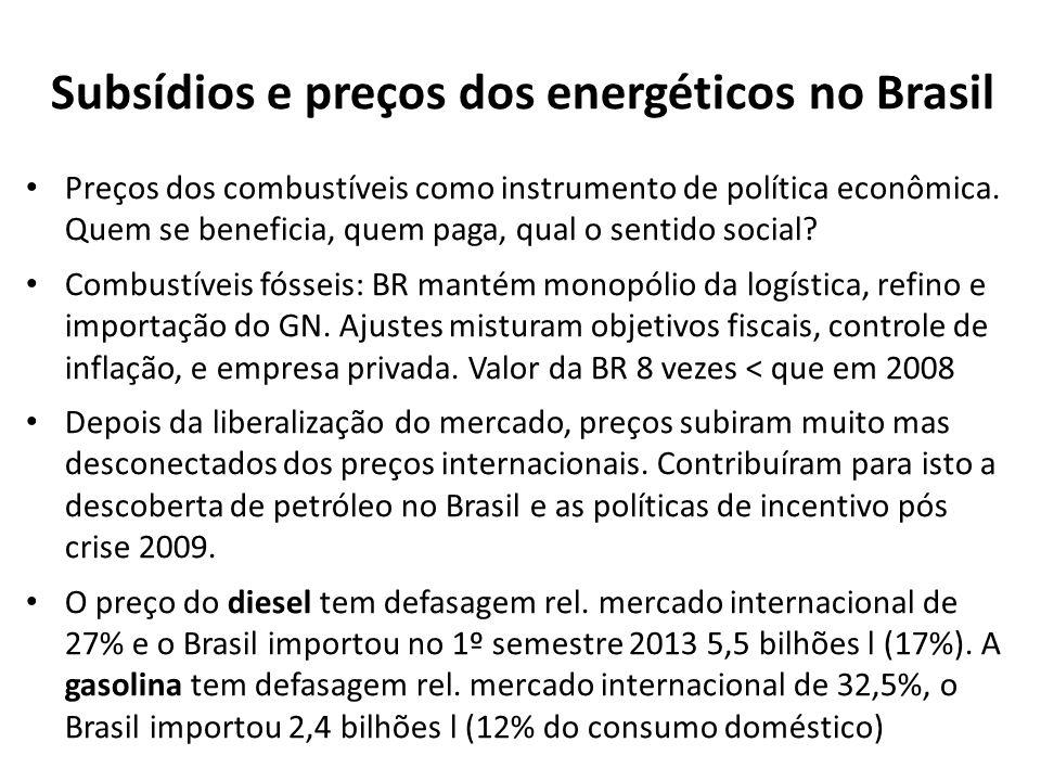Preços dos combustíveis como instrumento de política econômica.