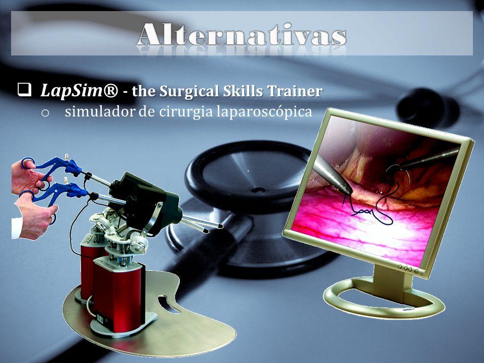 LapSim® - the Surgical Skills Trainer LapSim® - the Surgical Skills Trainer o simulador de cirurgia laparoscópica