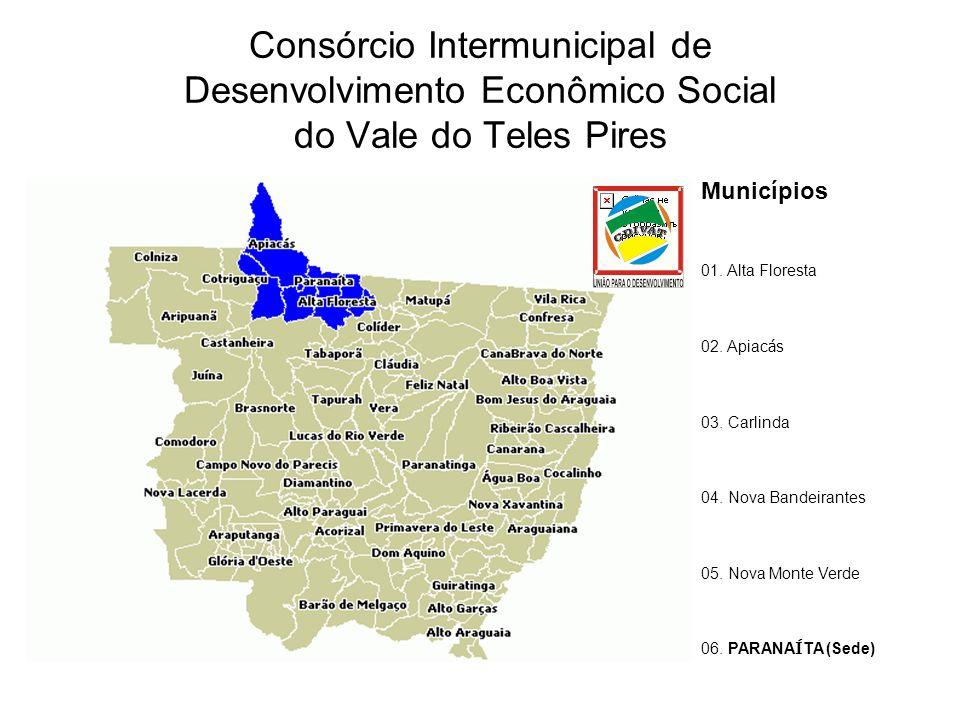 Consórcio Intermunicipal de Desenvolvimento Econômico Social do Vale do Teles Pires Municípios 01.