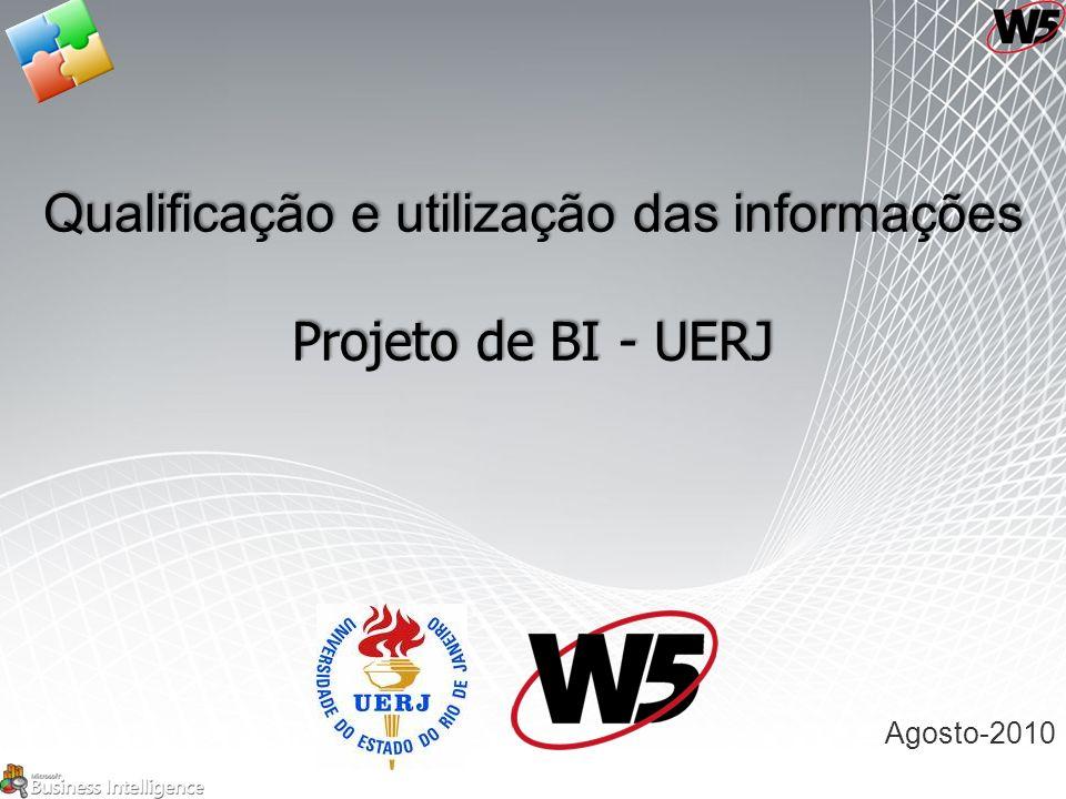 Qualificação e utilização das informações Projeto de BI - UERJ Agosto-2010