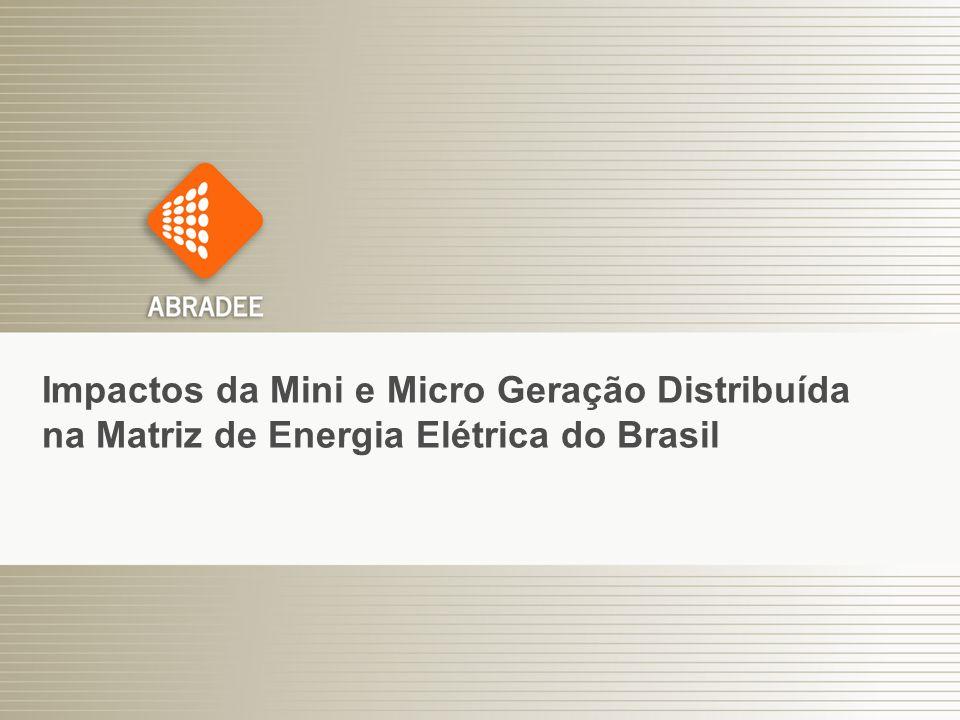 5 Impactos da Mini e Micro Geração Distribuída na Matriz de Energia Elétrica do Brasil