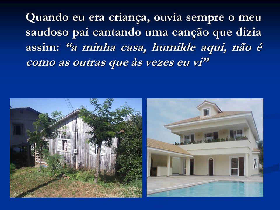 Atualmente, milhares de pessoas, digo mutuários, passam a vida inteira pagando sua casa no programa do governo: minha casa, minha vida toda pagando. T