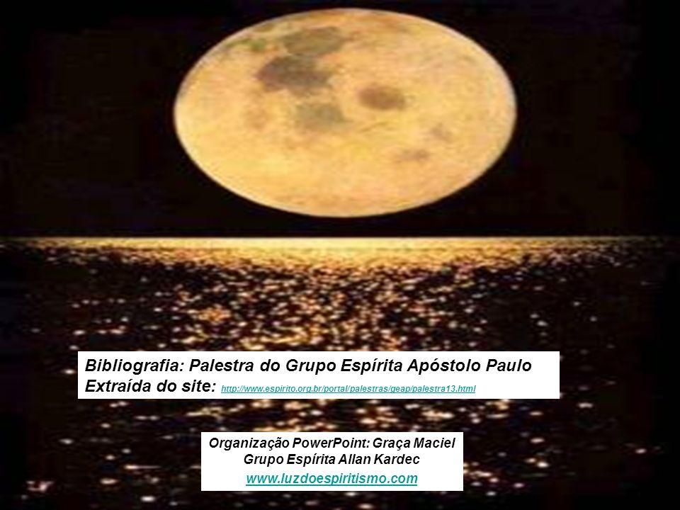 12 Bibliografia: Palestra do Grupo Espírita Apóstolo Paulo Extraída do site: http://www.espirito.org.br/portal/palestras/geap/palestra13.html http://w