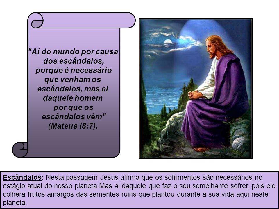 10 Em verdade vos digo, que tudo o que ligardes na terra, será ligado no céu e tudo o que desligardes na terra, será desligado no céu (Mateus l8:l8).