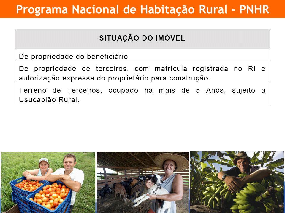 14 Programa Nacional de Habitação Rural - PNHR