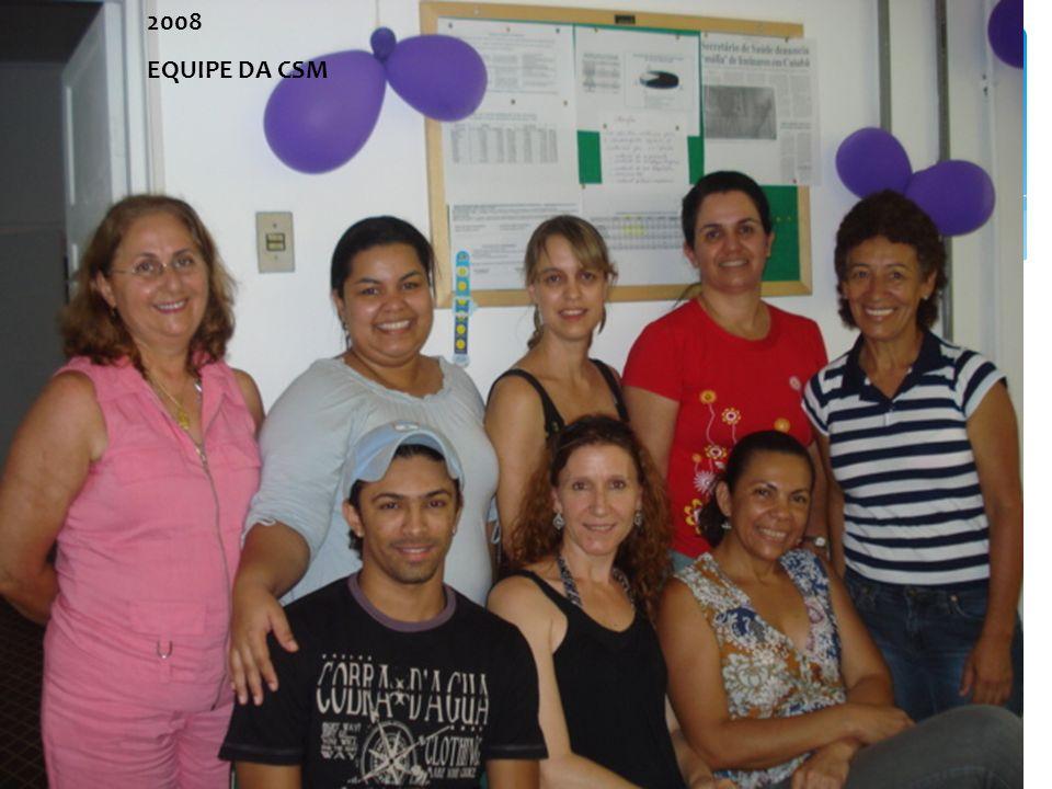2008 EQUIPE DA CSM