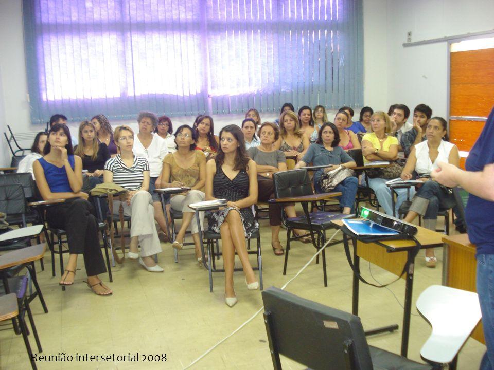 Reunião intersetorial 2008