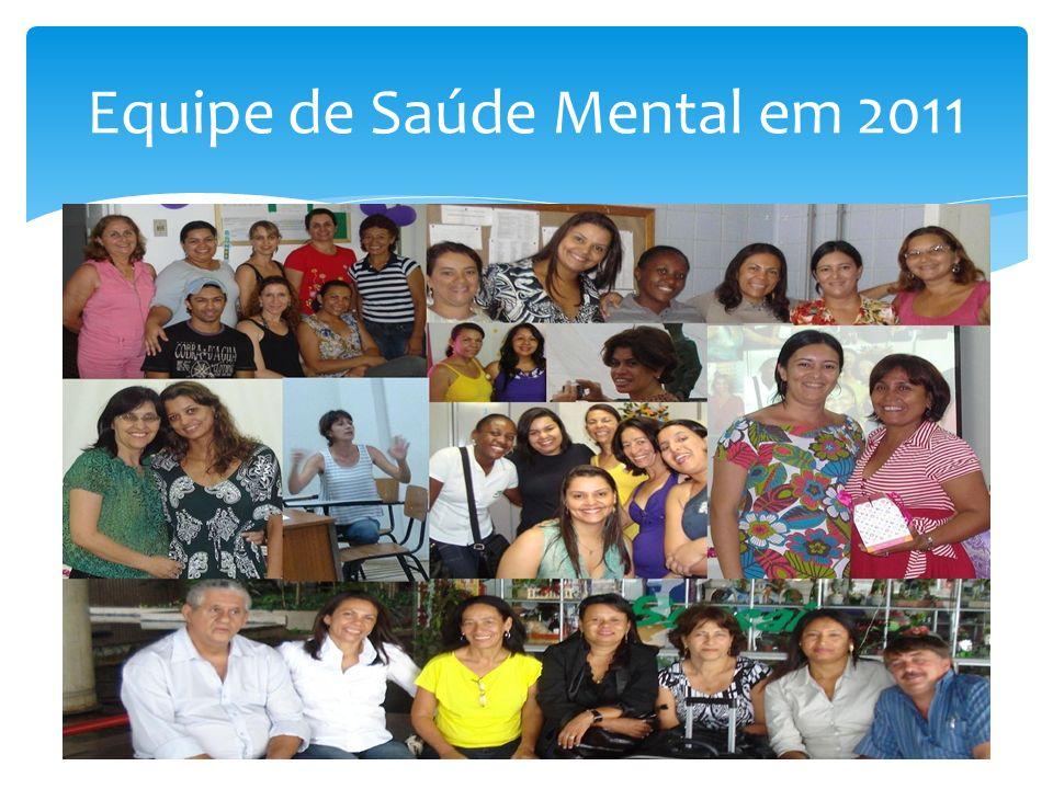 Equipe de Saúde Mental em 2011