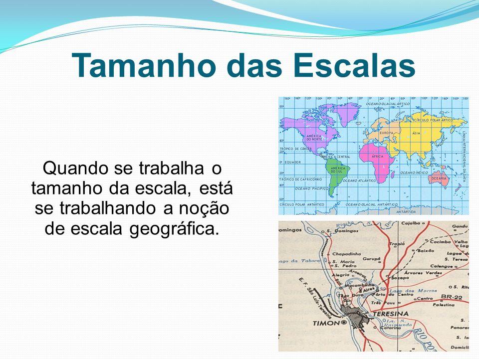 A orientação dos mapas é uma regra estabelecida por convenção.