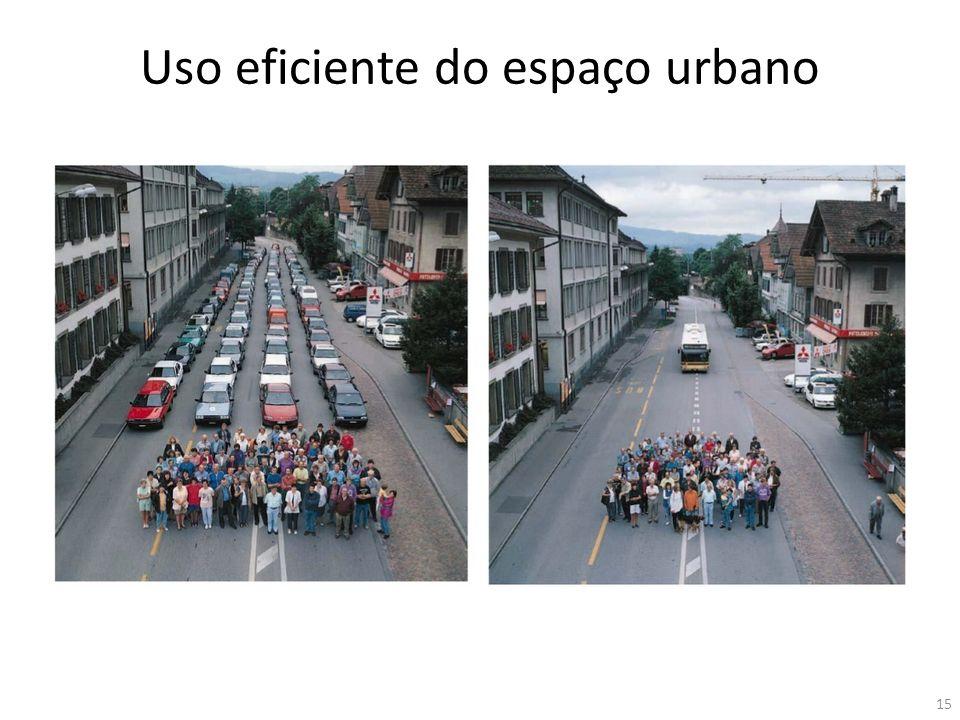 Uso eficiente do espaço urbano 15