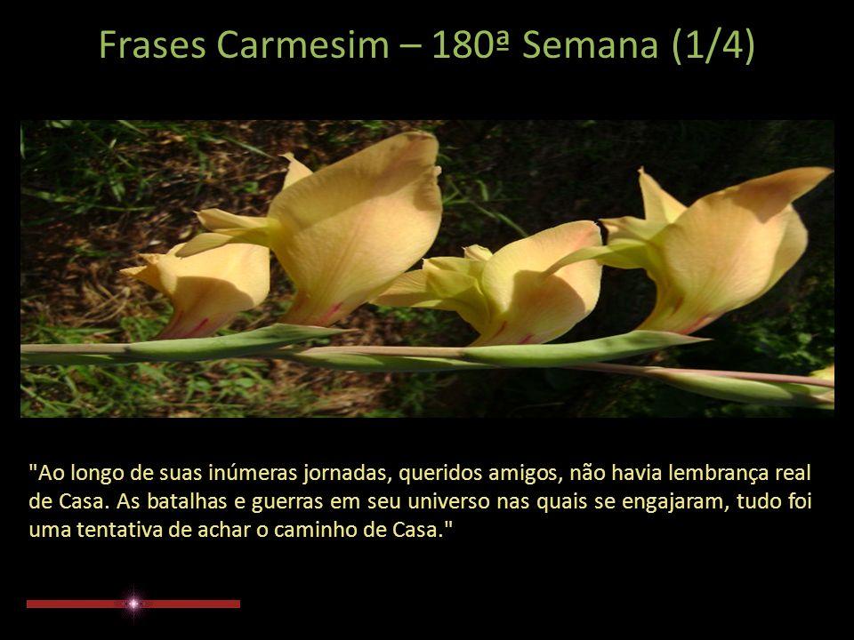Frases Carmesim 180ª Semana Extraídas do Site: www.manuscritoshaumbra.com