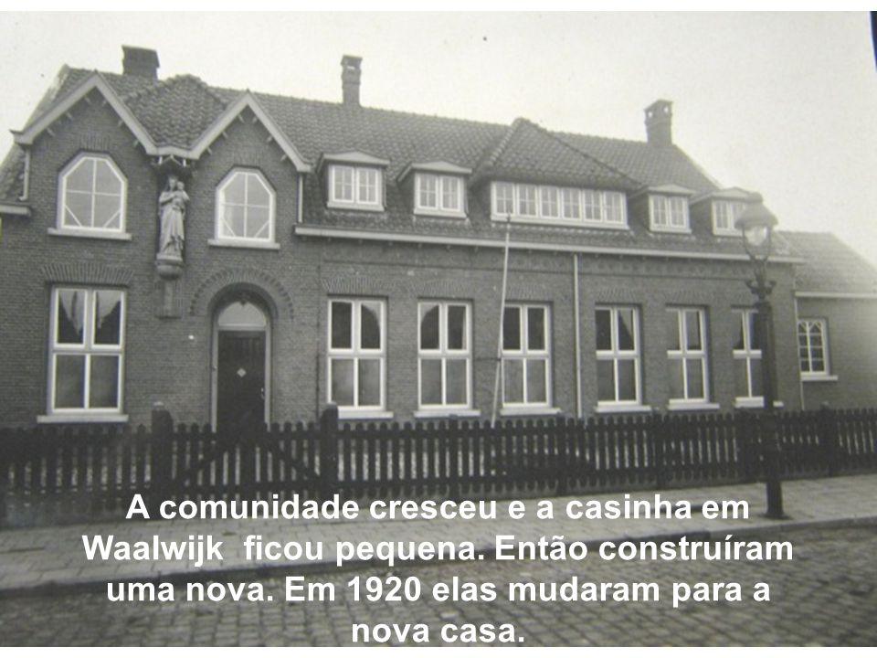 A comunidade cresceu e a casinha em Waalwijk ficou pequena.